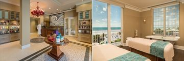 The Don Cesar, Spa Reception and Couples Treatment Room