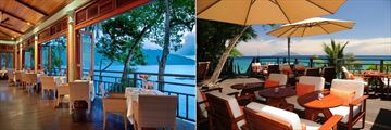 The Hilton Seychelles Northolme Resort & Spa, Oceanview Bar and Restaurant