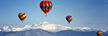 The Hot Air Balloon Festival in Colorado Springs