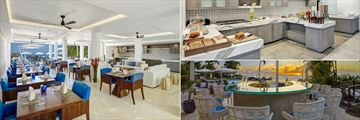 Dining Room, Breakfast Bar and Upper Deck Bar at The House by Elegant Hotels