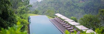 The Infinity Pool at Alila Ubud