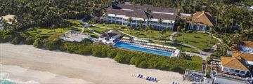 Aerial Views of the Resort and Beach at The Ocean Club, A Four Seasons Resort, Bahamas