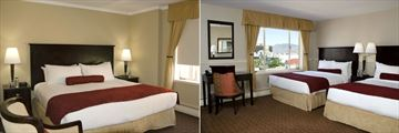 The Plaza Kamloops, King Guest Room and Two Double or Queen Guest Room