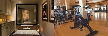 The Resort at Longboat Key Club, Spa Treatment Room and Fitness Centre Spin Bikes