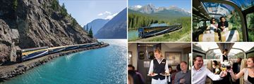 The Rocky Mountaineer Goldleaf Experience