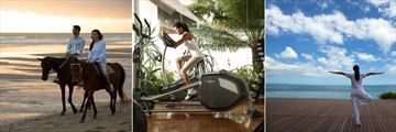 The Samaya Seminyak, Rental Horseback Riding, Gym and Complimentary Yoga