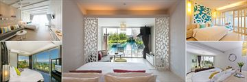 The Sands Khao Lak by Katathani, Sands Room - Aqua Wing, Pool Access Junior Suite - Lagoon Wing, Family Room - Lagoon Wing, Seaside Junior Suite - Seaside Wing and Sea Suite - Seaside Wing