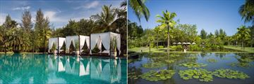 The Sarojin, Khao Lak, Pool and Gardens