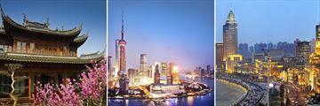 Shanghai cityscapes, China