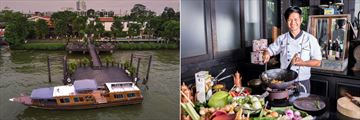 The Siam Hotel, Pier and Shuttle Boat and Thai Cooking Class