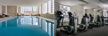The St. Regis San Francisco, Indoor Saltwater Pool and Fitness Centre