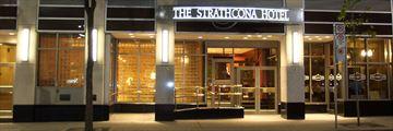The Strathcona Hotel, Entrance