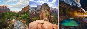 Viewpoints & Scenery in Zion National Park