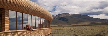 Exterior view of Tierra Patagonia