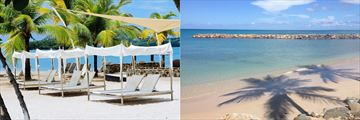 Rendezvous beach and cabanas