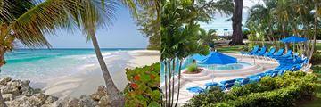 Turtle Beach, beach and pool