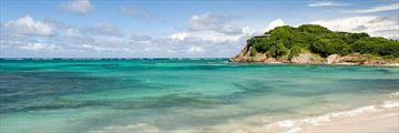 Petit St Vincent island view