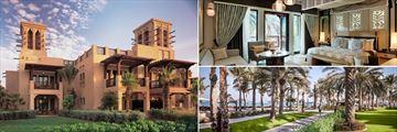 Jumeirah Dar Al Masyaf Gulf Summer House exterior, Ocean Deluxe Room, and promenade