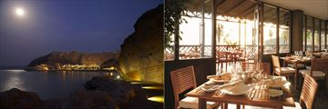 Dining at Shangri-La Barr Al Jissah Resort & Spa Al Waha