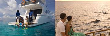 Fun and romantic activities at Conrad Maldives