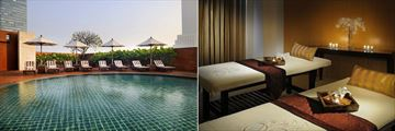 Tower Club at lebua, Pool and Spa Treatment Room