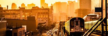 Train in Manhattan