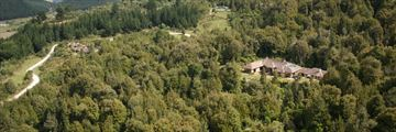 Treetops Lodge & Estate, Aerial View of Lodge