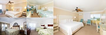 A Selection of Guest Rooms at Tween Waters Inn Island Resort