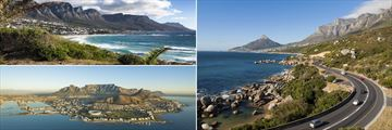 Twelve Apostles Mountains, Cape Town aerial view & The Garden Route near Cape Town