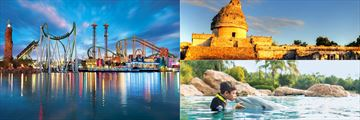 Universal Studios, Discovery Cove and Chichen Itza