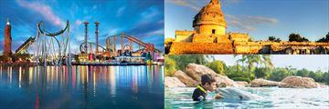 Universal Studios, Discovery Cove and Chichen Itza