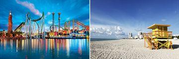 Universal Studios Orlando & Miami Beach, Florida