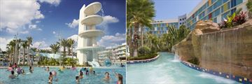 Universal's Cabana Bay Beach Resort, Cabana Pool and Lazy River