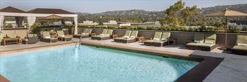The Pool at Viceroy L'Ermitage Beverly Hills
