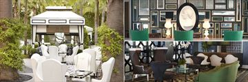 Viceroy Santa Monica, Patio Dining, Concierge and Lobby
