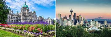 Victoria, British Columbia & Seattle, Washington