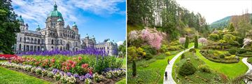 Scenery in Victoria, British Columbia