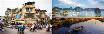 Hanoi, Halong Bay and the Mekong Delta