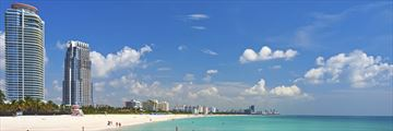 A gorgeous view of South Beach, Miami