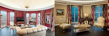 La Borromea Suite and Liz Taylor Suite at Villa E Palazzo Aminta
