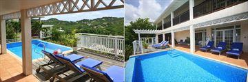 Pool at Villa Paradisso