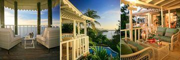 Veranda at Villa Saline Reef