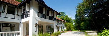 Villa Samadhi Singapore, Exterior