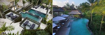 Wapa Di Ume Resort & Spa, Ubud, Resorts Infinity Pools