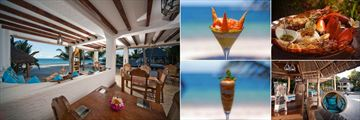 Tides Restaurant, Dining Options, Ocean Spirit Beach Bar and Cocktails at WaterLovers Beach Resort, Diani Beach