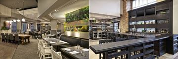 The Westin Trillium House, Blue Mountain Resort and Oliver & Bonacini Cafe Grill Dining Area and Bar