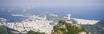 Aerial view of Rio De Janeiro