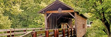 Wooden bridges in Appalachia, Tennessee