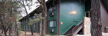 Exterior of Yavapai Lodge