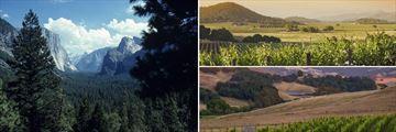 Yosemite, Napa & Sonoma Valleys